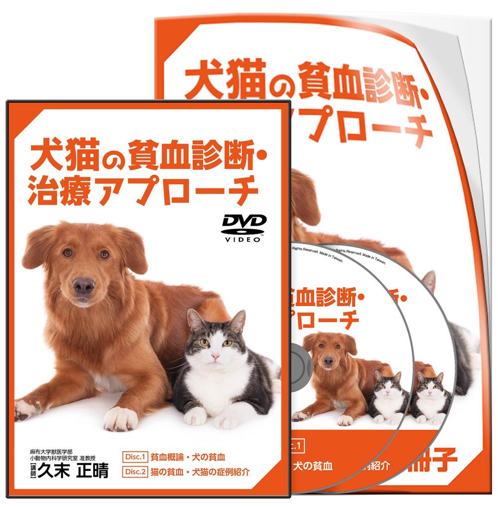 久末PJ_犬猫の貧血診断・治療アプローチ-S1│医療情報研究所DVD