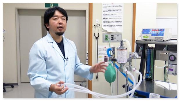 正しい麻酔器の繋ぎ方をわかりやすくご説明します