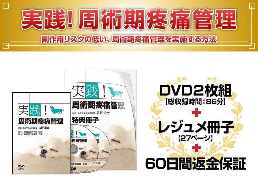 実践!周術期疼痛管理DVD