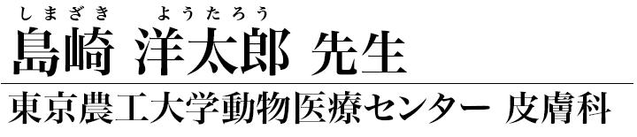 島崎洋太郎先生