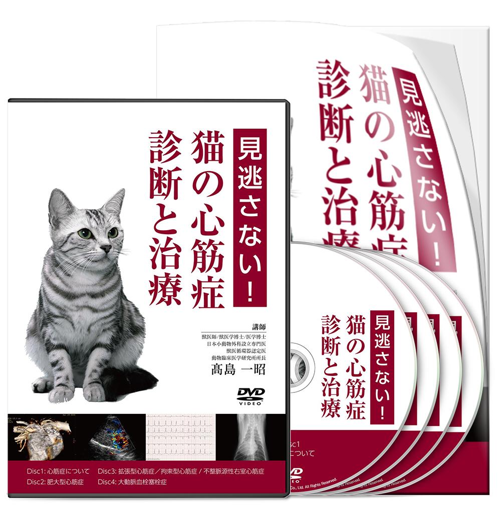 高島PJ_見逃さない!猫の心筋症・診断と治療 -CP1│医療情報研究所DVD