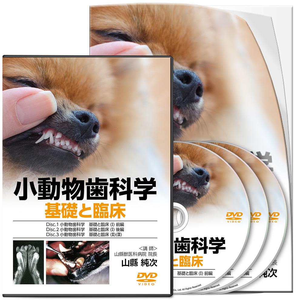 山縣PJ_小動物歯科学 基礎と臨床-S2│医療情報研究所DVD